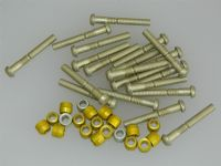 "1/4"" Pin Rivets Dome Head With Rivnuts Length 1 3/4"" [B1]"